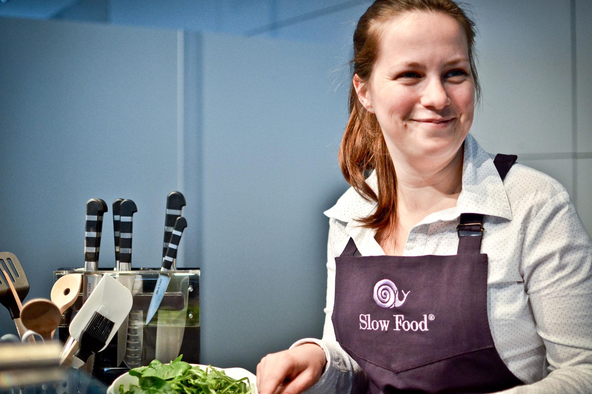 Flora Hohmann, Küchenmeisterin und TV-Köchin bei ARD Buffet