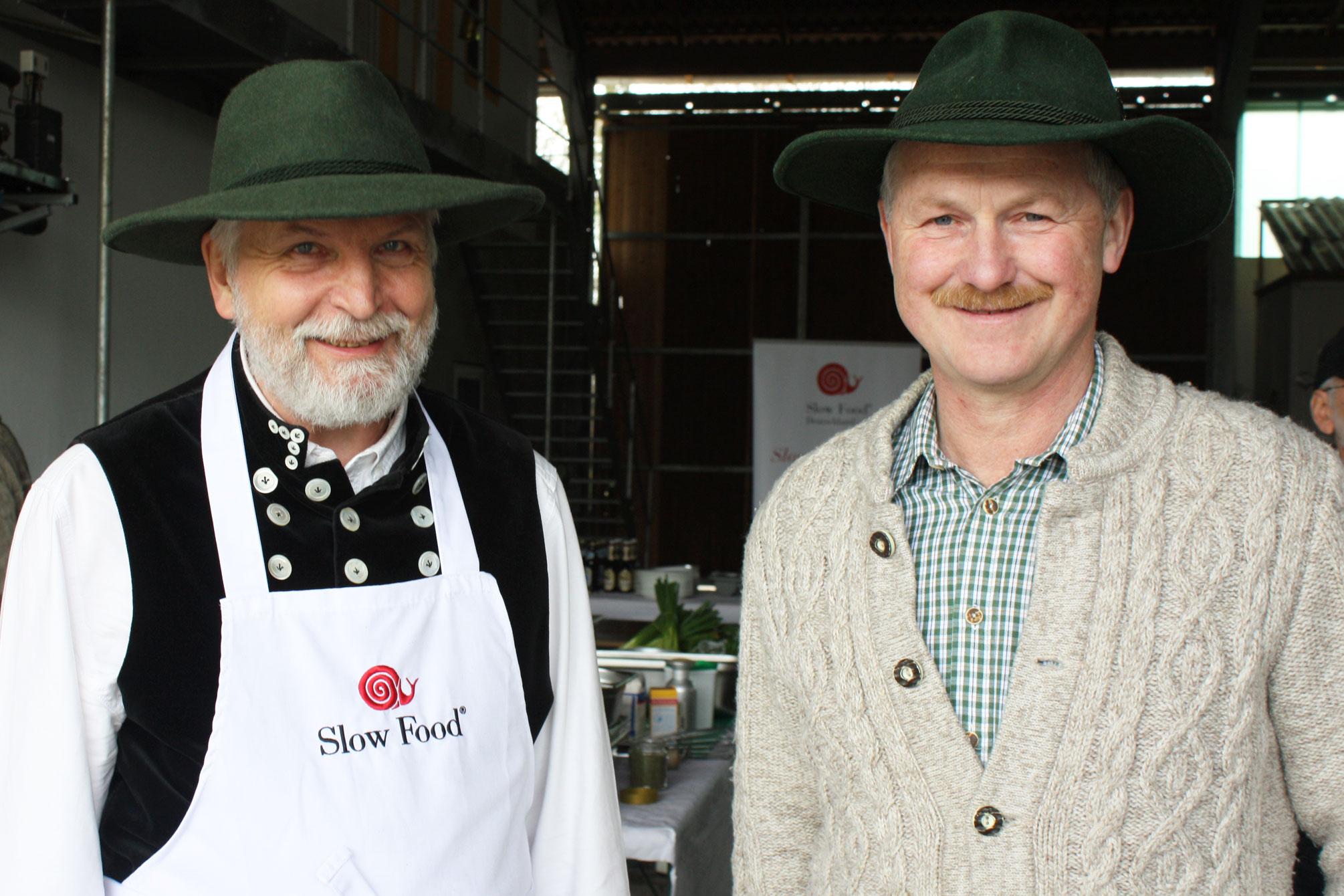 Slow Food Kuttelgespräch: Ganze Tiere essen - nose to tail. Besuch der Schäferei Eichhorn im Altmühltal.