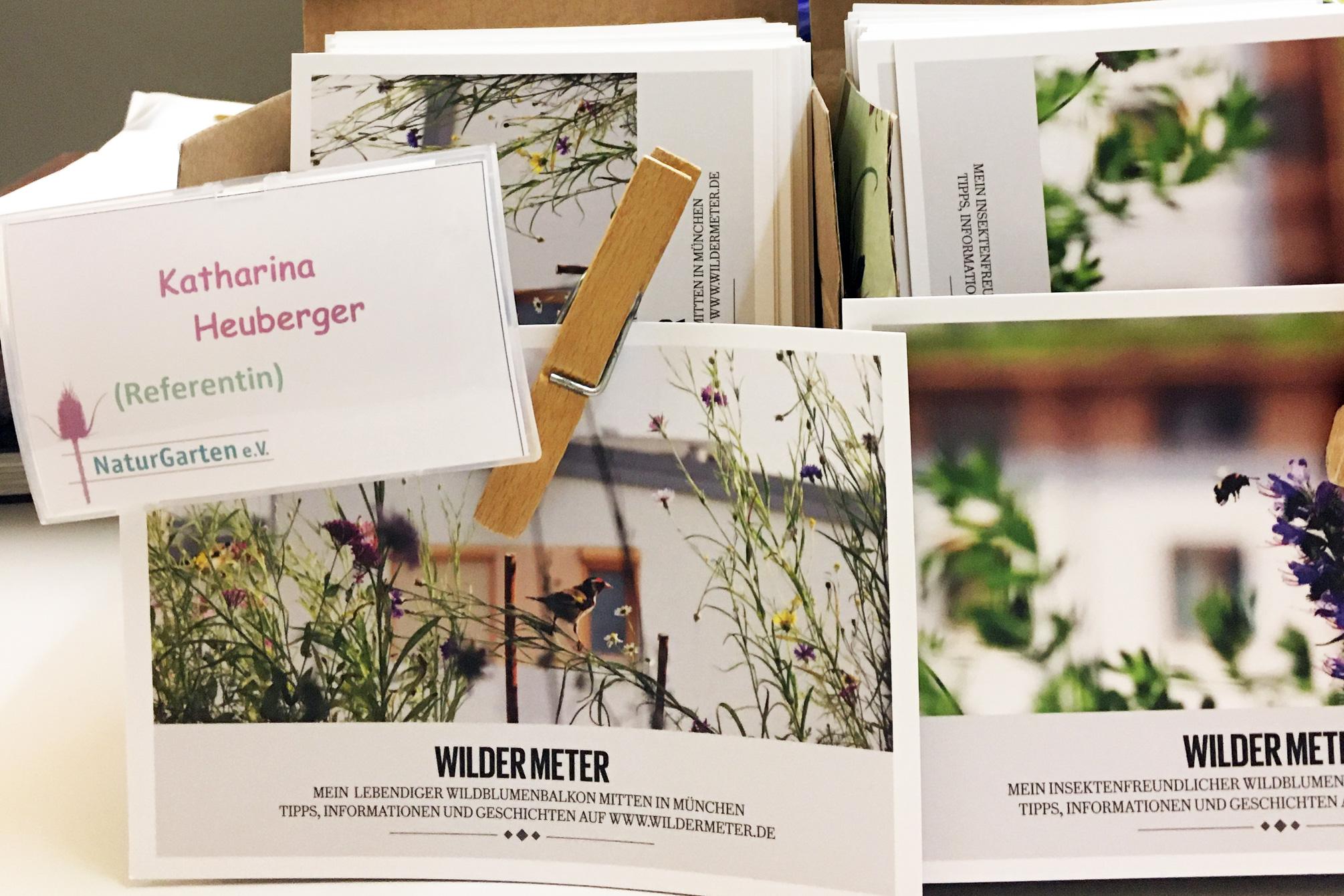 "Natrugratentage 2020 - Workshop ""Naturerlebnisraum Balkon"""