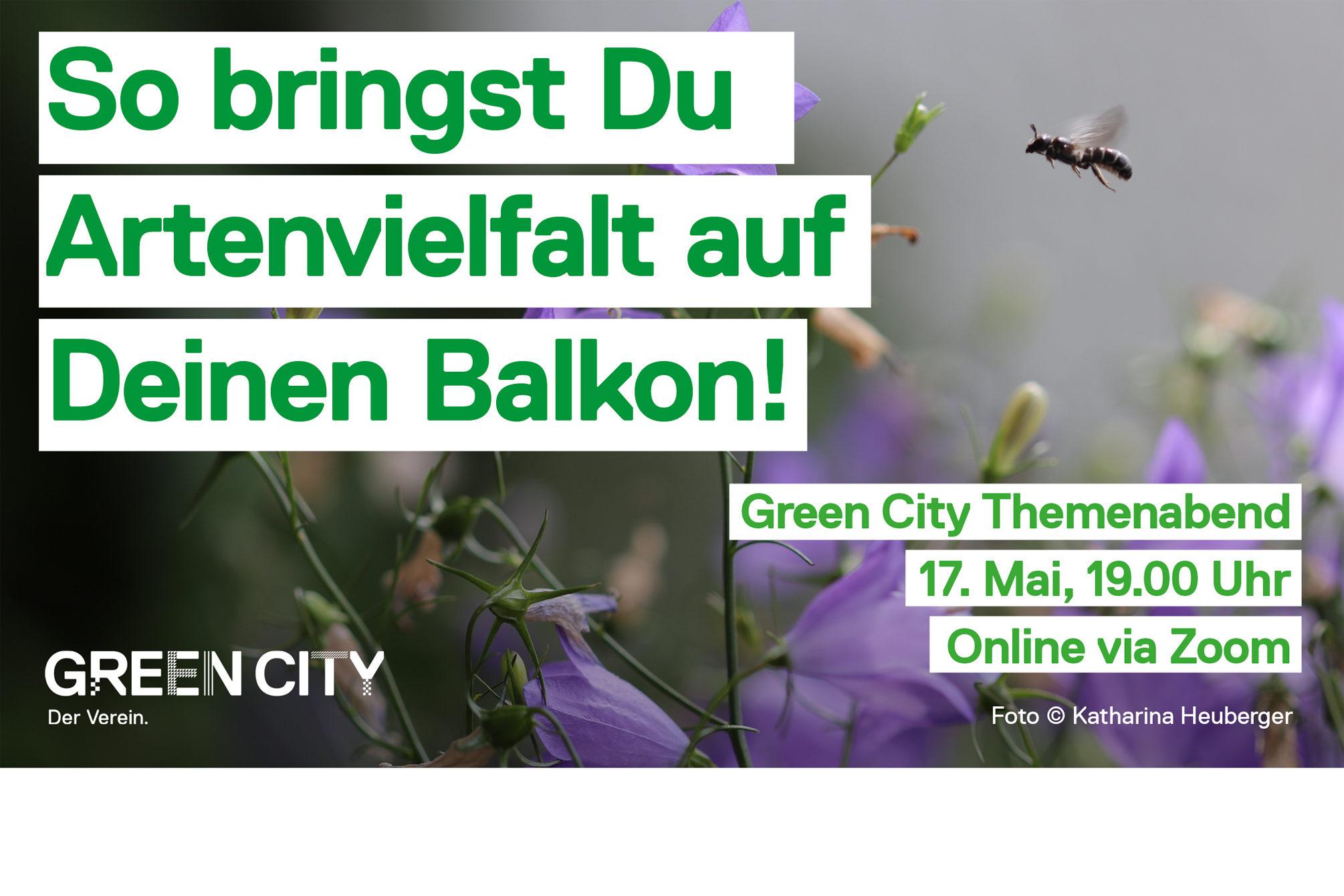 Green City München: Themenabend Urbanes Grün